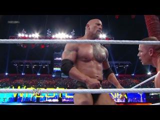 WWE Wrestlemania 28 John Cena vs The Rock (Дуэйн Скала Джонсон)
